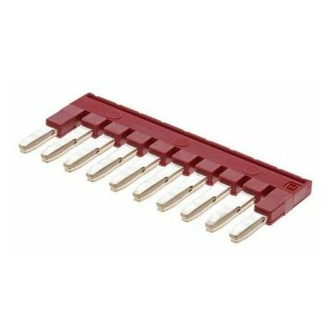 Barrette de jonction à 10 pôles à utiliser avec Bloc de jonction Série FBS