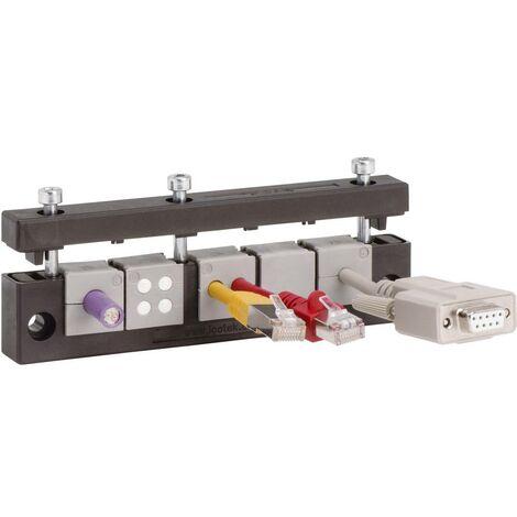 Barrette dentrée de câble Icotek KEL-E5 42250 Ø max. des bornes 17 mm Polyamide noir 1 pc(s)
