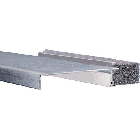 Barrette dentrée de câble Rittal 8802.120 Tôle naturel 1 pc(s)