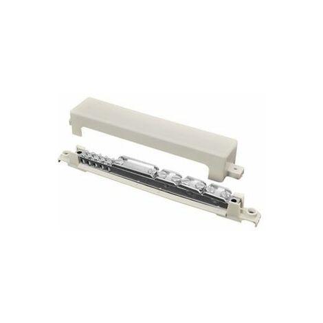 Barrette équipotentielle 5 x 2,5-25 mm² 2x35-70mm², 1xØ8-10mm², 1x40x5mm²