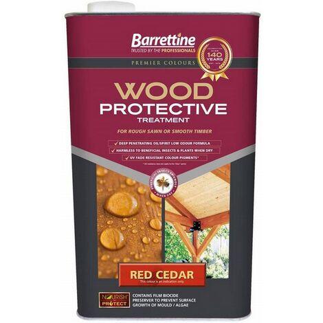 "main image of ""Barrettine Nourish & Protect Wood Protective Treatment Red Cedar 1L"""