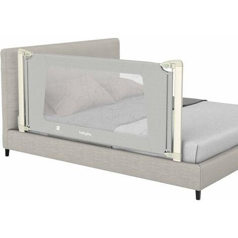 """main image of """"Barriera letto bambini, sponda letto bambini, barriera a scomparsa sollevata verticalmente, 180 cm /150 cm (180 CM)"""""""