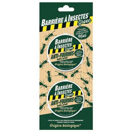 BARRIERE A INSECTES - Anti-fourmis boite appât - lot de 2