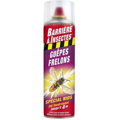 BARRIERE A INSECTES GUEPES, FRELONS SPÉCIAL NIDS - AÉROSOL 500 ML C0134