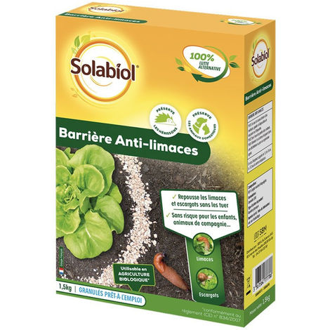 Barrière Anti-Limaces - 1.5 Kg - Solabiol