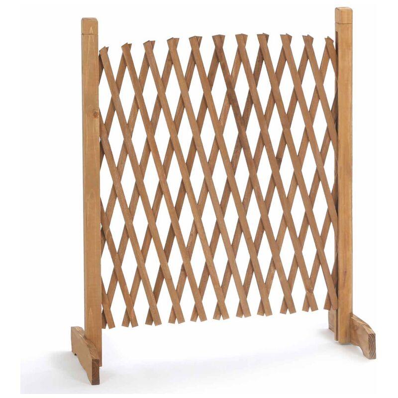 barriere bois extensible 30 150 cm 12184
