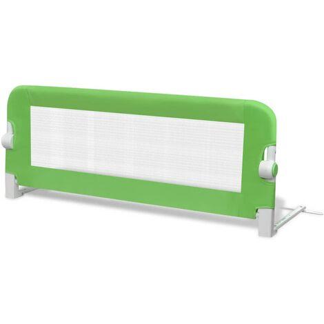 Barrière de lit pour enfants 102 x 42 cm Vert