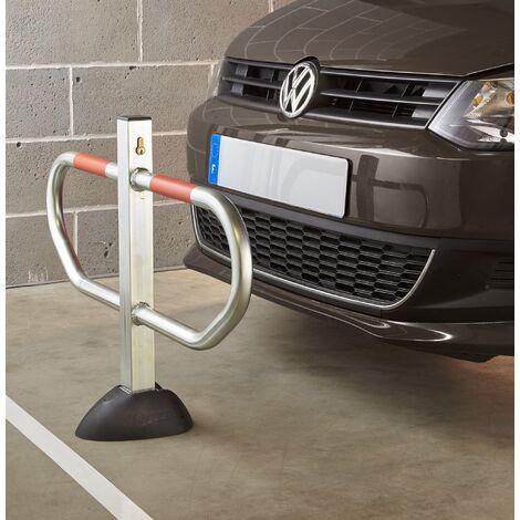 Barrière de parking avec pied central design (avec arceaux)