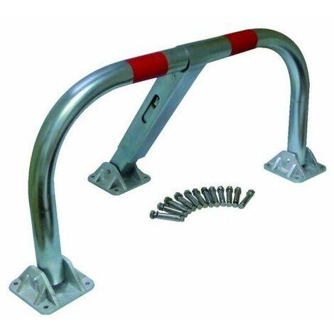 """main image of """"Barriere de parking tube acierdiam 60 mm verrouillage automatique"""""""