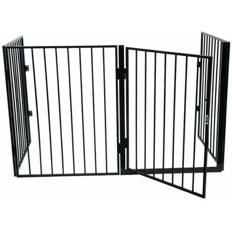 Barrière de protection 4 panneaux 76x240cm