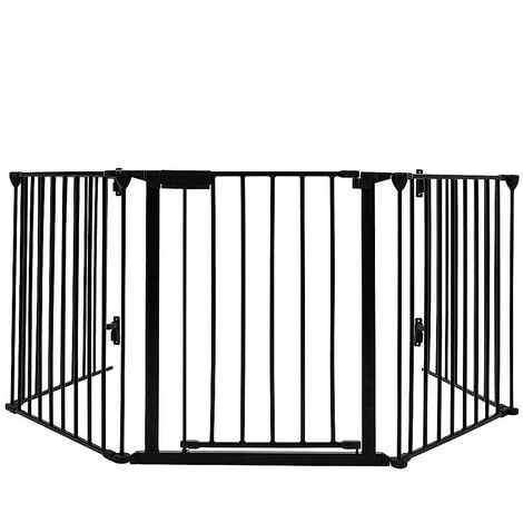 Barriere de securite enfant 310cm 5 panneaux