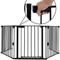 Barrière De Sécurité Et De Cheminée 310*2.5*75cm 5 Pans