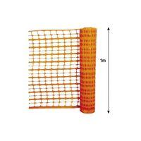 Barrière de signalisation orange 1m Eco