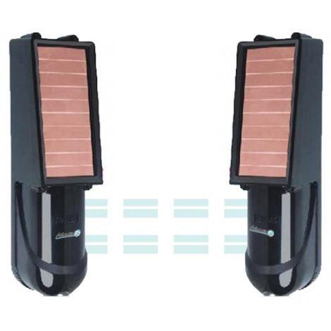 Barrière infrarouge sans fil solaire 60m - IP-SOLAR 60 iProtect Evolution