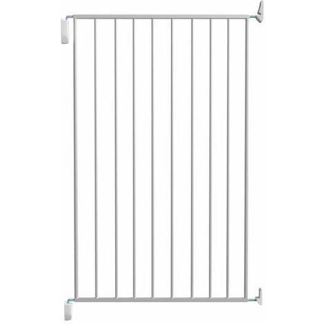 Barrière métal Enza, simple cadre, 67-73cm, hauteur 105cm