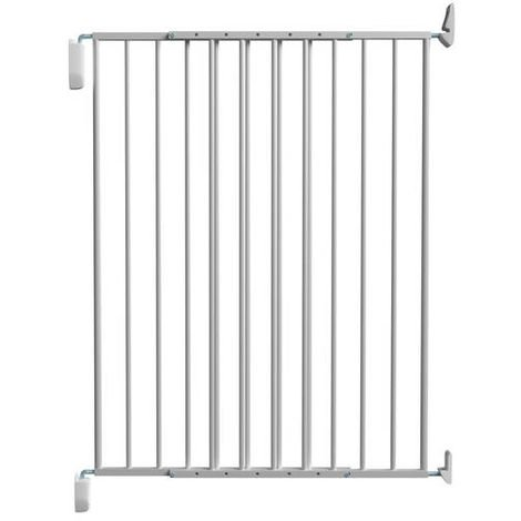 Barrière métal Medor, pivotante, double cadre, 67-113cm, hauteur 105cm