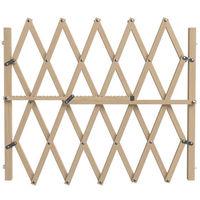 Barrière Pressfix (à pression), en bois brut, extensible à 104cm