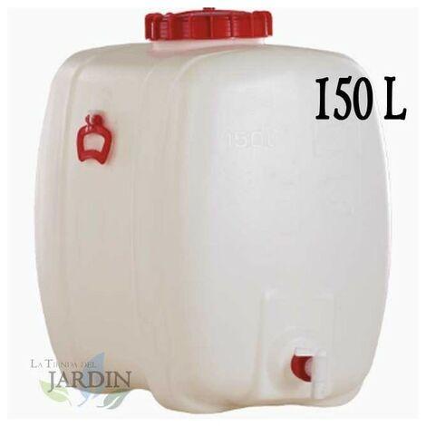Barril de polietileno alimentario 150 litros para liquidos y bebidas