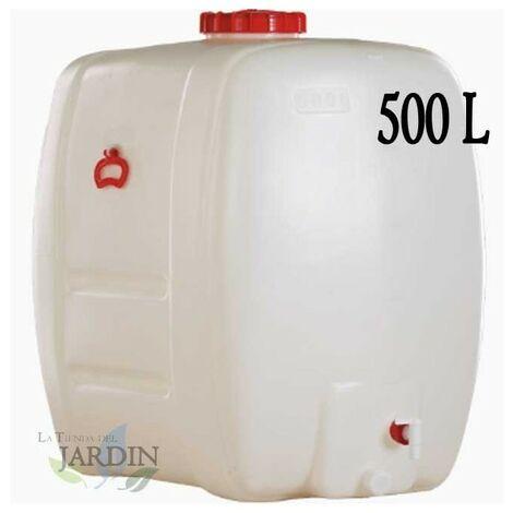 Barril de polietileno alimentario 500 litros para liquidos y bebidas