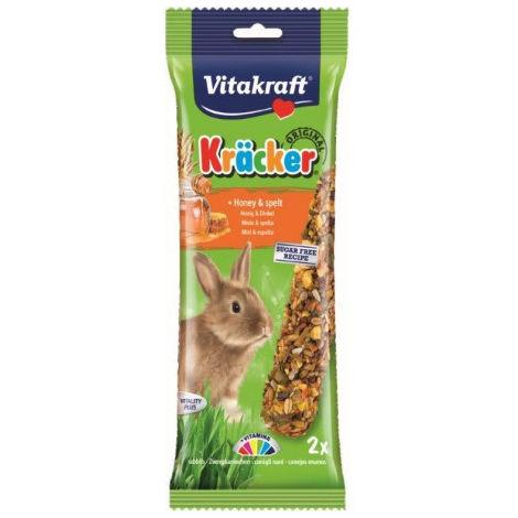 Barritas Snack para Conejos Enanos Miel Vitakraft - 2 unidades