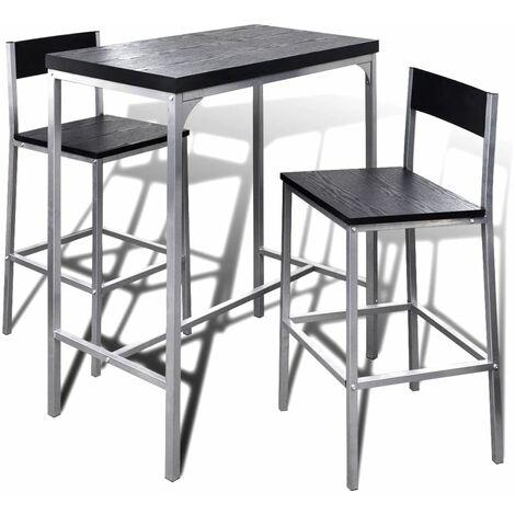 Bartisch Frühstückstisch Stehtisch mit Stühlen