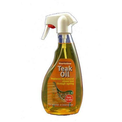 Bartoline 26214560 Teak Oil Trigger Spray 500ml