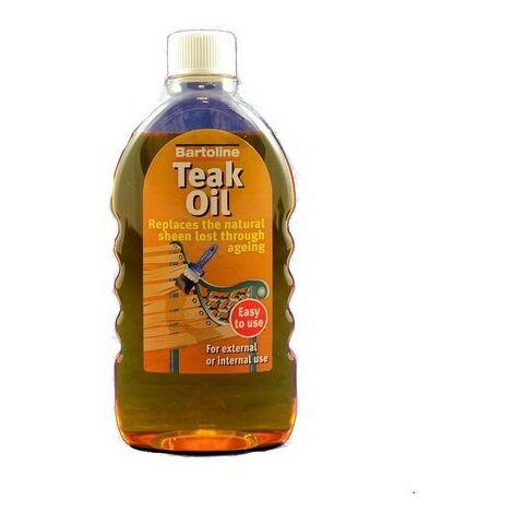 Bartoline 26214940 Teak Oil Bottle 500ml
