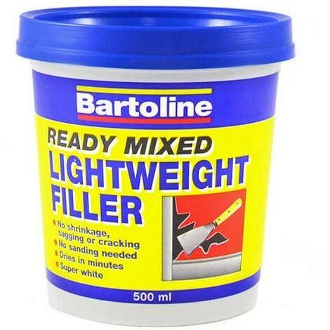 Bartoline 52740500 Ready Mixed Lightweight Filler 500ml