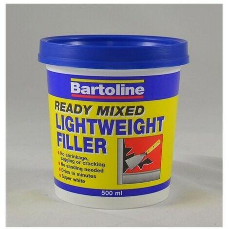 Bartoline 52741000 Ready Mixed Lightweight Filler 1 Litre