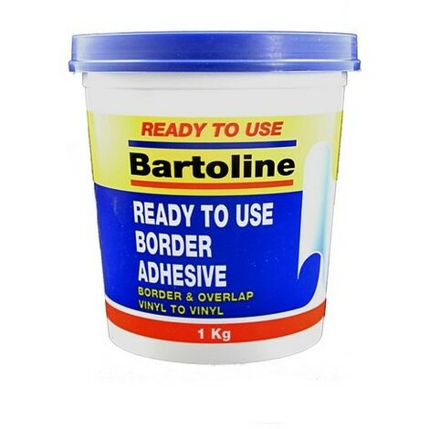 Bartoline 58500381 Border and Overlap Adhesive 1kg Tub