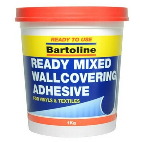 Bartoline 58510973 Easipaste Ready Mixed Wallcovering Adhesive 1kg Tub