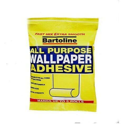 Bartoline 59942741 All Purpose Wallpaper Adhesive 5 Roll 6 Pint