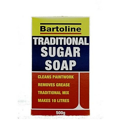 Bartoline 69400390 Sugar Soap Powder Traditional 500g Sachet in Box
