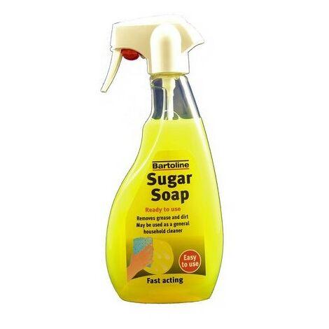 Bartoline 69404820 Sugar Soap Liquid Ready To Use 500ml Trigger Spray