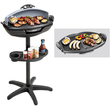 Bartscher Elektro Stand und Tischgrill Barbecue Grill 200641