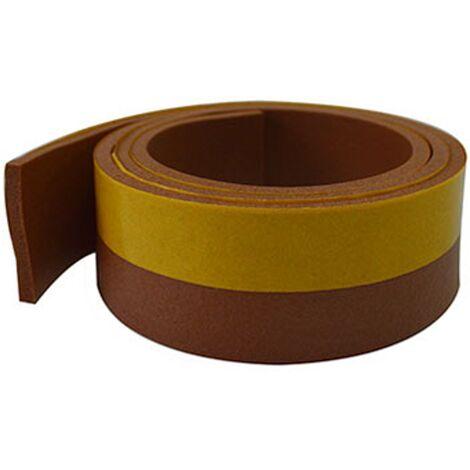 Bas de porte Sencys - PVC brun 1mx38mm
