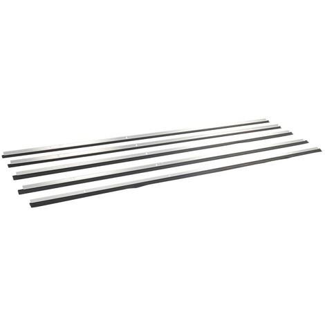 Bas de porte usage intensif aluminium