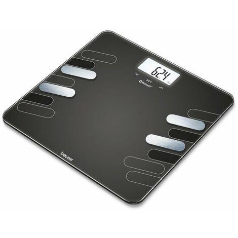 Bascula Baño Electr. 180kg Bluetooth Diagnostica Beurer