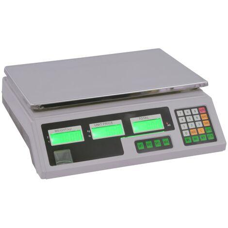 Báscula digital 30 kg con batería recargable