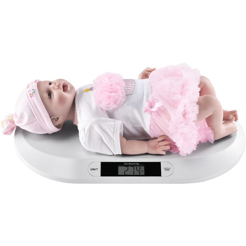 Escala digital para mascotas con pantalla LCD y b/áscula electr/ónica para beb/é