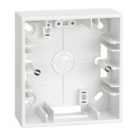 Base caja superficie 1 elemento blanco Simon 27 Play 2700751-030
