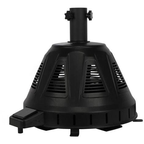 Base calentador para parasol Cola - Negra