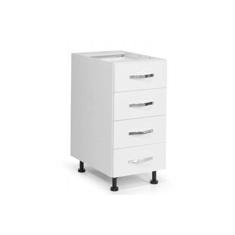 Base cassettiera cucina 40x60xH82 in legno