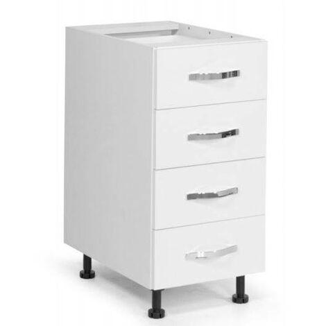 Base cassettiera cucina 40x60xH82 in legno | Larice - AZ269