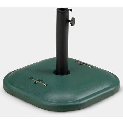 Base de cemento metal sombrilla mar jardín soporte base 25 Kg