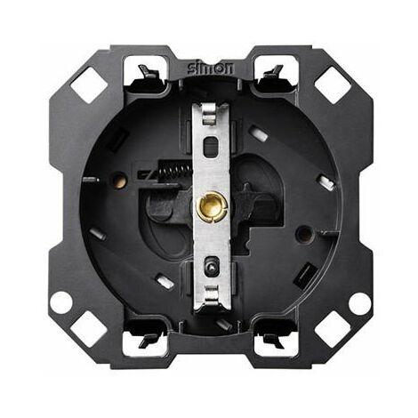 Base de enchufe con cargador USB Simon 100 10001432-039