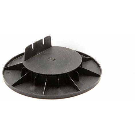 Base de montaje 25/40 mm para terraza de madera o compuesto Rinno plots