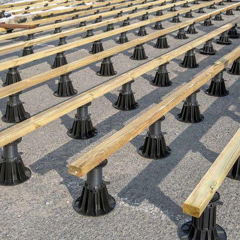 Estructura de montaje de las lamas