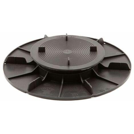 Base de montaje ajustable 20/30 mm para terrazas de losas