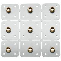 Base de montaje para módulos de ducha